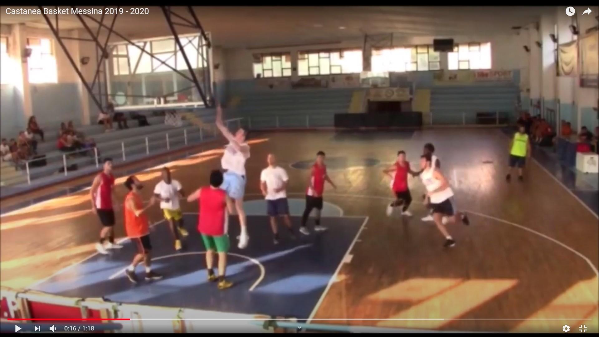 Castanea Basket Messina 2019 - 2020
