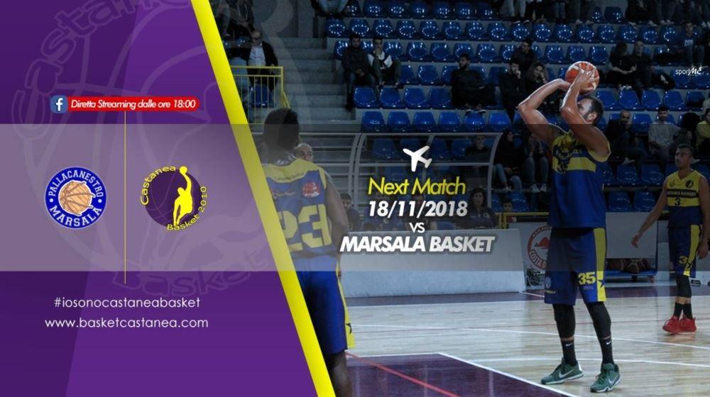 Castanea Basket in trasferta a Marsala !