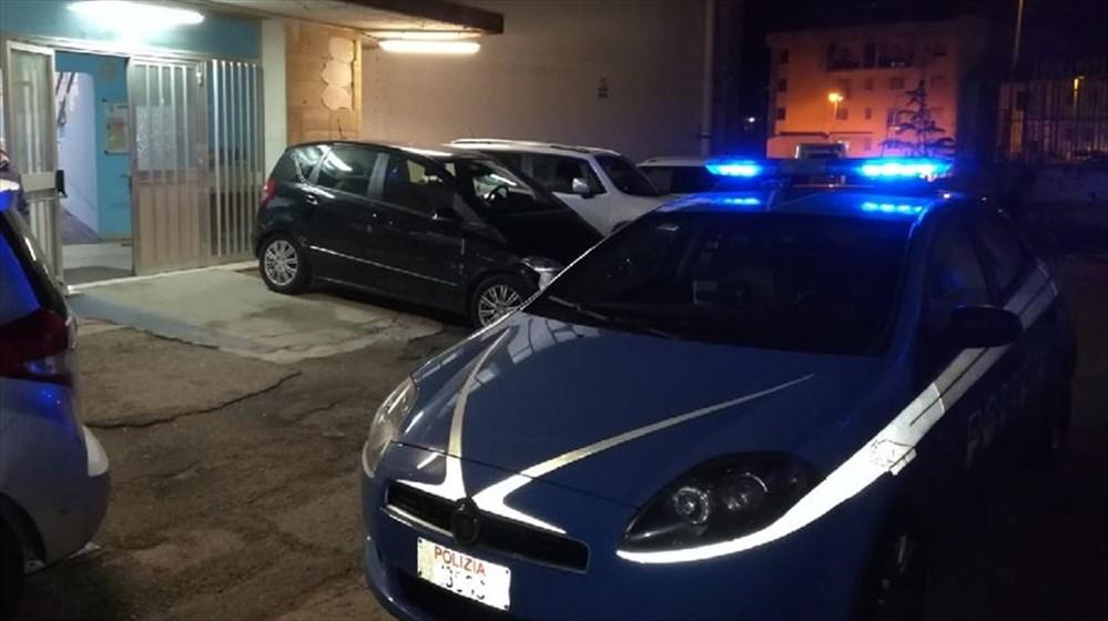 Intervento della polizia al PalaRitiro.