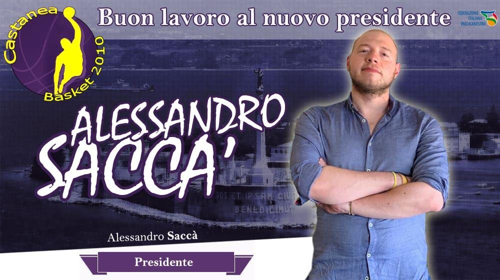 Nominato il nuovo Presidente del Castanea Basket .
