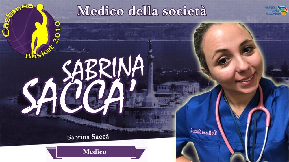 La Dott. Sacc�� MEdico del Castanea Basket