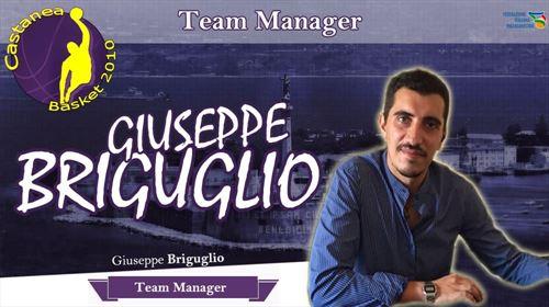 Il Nuovo Team Manager Giuseppe Briguglio.