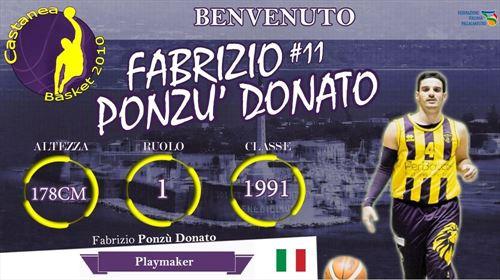 Presentato Fabrizio Donato Ponz�� !