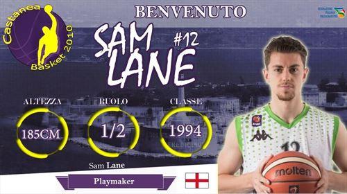 Arriva dalla BBL Inglese, Sam Lane.