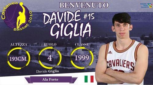 Presentato Davide Giglia