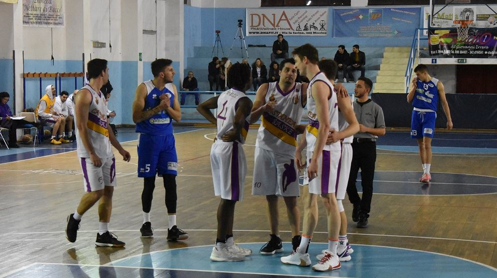 Castanea Basket, grande reaziazione nel finale di gara.