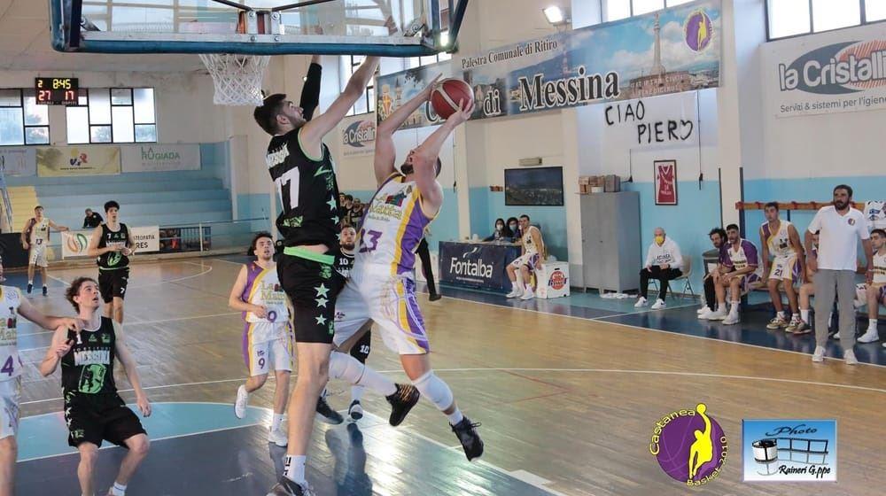 Il derby di Messina va al Castanea Basket.
