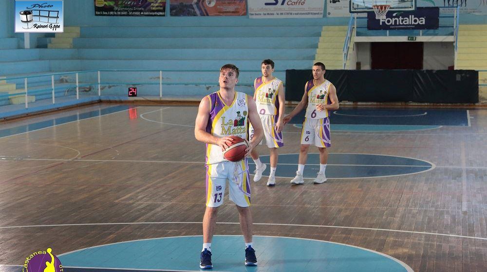 Il Castanea Basket passa contro il Cus Catania.